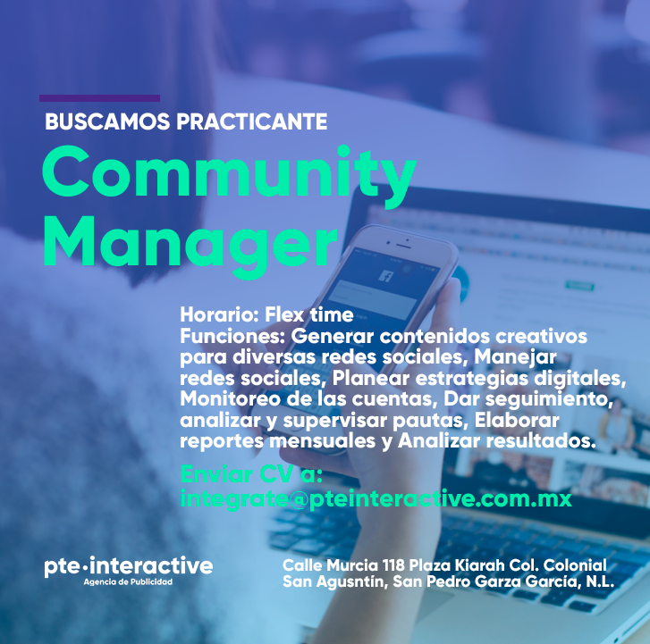 Practicante Community Manager