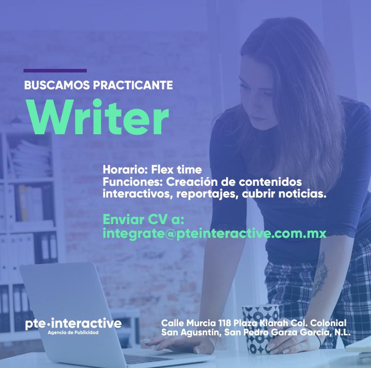 Practicante Writer